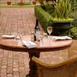 The Garden: an ideal setting for al fresco dining
