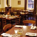 Classically-inspired décor: 1841 restaurant